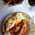 Chicken Paprikas at Miklosvar, Transylvania. Photo: Landon Nordeman, Saveur Magazine.